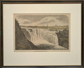 The Chaudiere Falls near Quebec