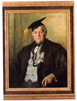 Portrait of Chancellor R.A.E.  Greenshields