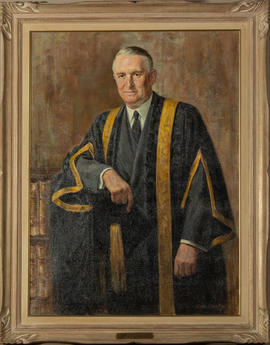 Portrait of Honourable  Mr. Justice D.C. Abbott