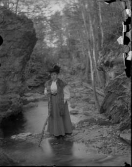 Woman posing at River Bank