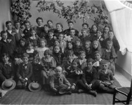 Group of School Children with Teacher