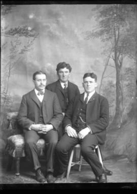 Portrait of Three Men