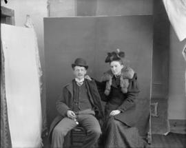 Man and Woman posing for Portrait
