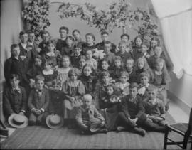 Group Portrait of School Children