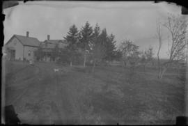 View of Farmhouse, Driveway and Yard