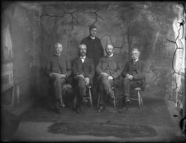 Portrait of Five Men