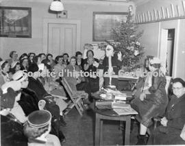 Christmas party, Cercle de fermières de St-Edmond of Coaticook
