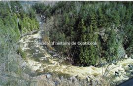 La gorge de Coaticook, Coaticook, Qué.