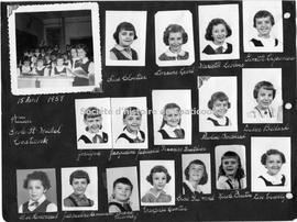 Students of École St-Michel elementary school, Coaticook