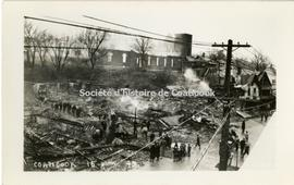 Coaticook fire, 1949