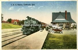 C.N.R. Station, Coaticook, Que.