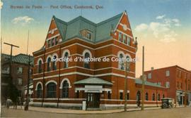Bureau de Poste, Post Office, Coaticook, Que.