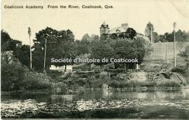 Coaticook Academy From the River, Coaticook, Que.