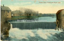 Power Dam, Coaticook River, Que.