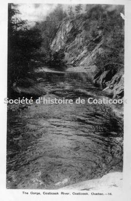 The Gorge, Coaticook River, Caticook, Quebec