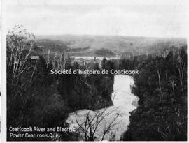 Coaticook River and Electric Power, Coaticook, Que.