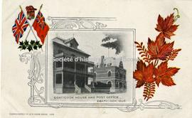 Coaticook House and Post Office, Coaticook, Que.