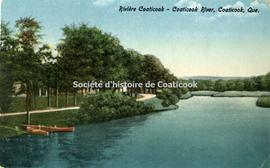 Rivière Coaticook-Coaticook River, Coaticook, Que.