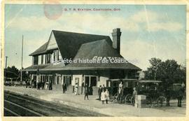 G.T.R. Station, Coaticook, Que.