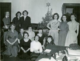 Bell Telephone Christmas party, Coaticook