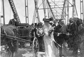 Christening of the third Richmond bridge
