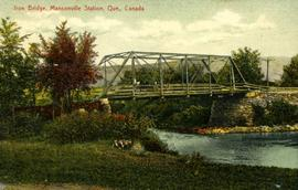 Iron Bridge, Mansonville Station, Que., Canada