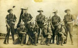Part of No.1 Platoon, 117th E.T. Battalion