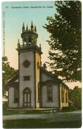 Episcopalian church, Clarenceville, P.Q., Canada