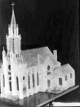 Model of the St-Louis de France Church