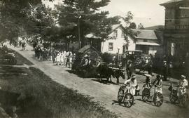 Dominion Day parade, Hatley