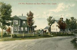 J.M. Hill's Residence and Barn, Morse's Line, Canada