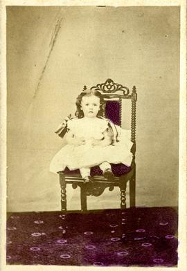 Minnie H. Bowen as a child