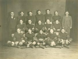Sherbrooke High School Rugby Team, 1928