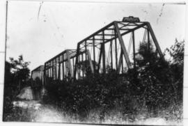 Drummondville rail bridge