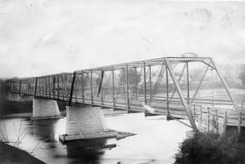 Second Richmond bridge  when it was destroyed by ice