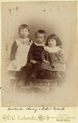 Children of Richard Roberts and Margaret Copping