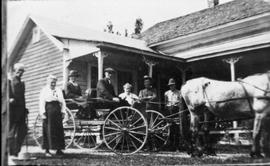 Family with Horse and Buggy