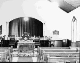 Interior View of Emmanuel United Church