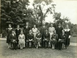 Lennoxville High School Senior Class 1931-1932