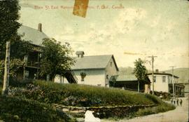 Main St. East, Mansonville Station, P. Que., Canada