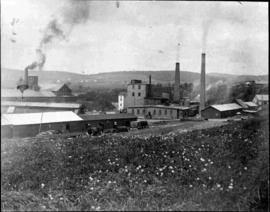 The factory from the south shore
