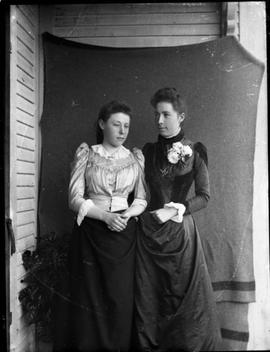 Two young women