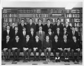 Royce Gale with his SHS class, 1964-1965