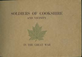 Soldiers of Cookshire and Vicinity in the Great War