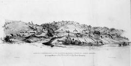 Sketch of Sherbrooke and its vicinity, Eastern Townships, Lower Canada