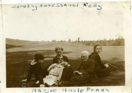 Group on Lennoxville golf course