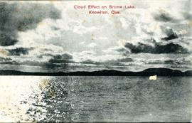 Cloud Effect on Brome Lake, Knowlton, Que.