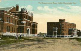 The Armoury and Royal Hotel, Sherbrooke, Que.