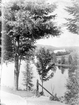 View of St. Francis River, from Sherbrooke