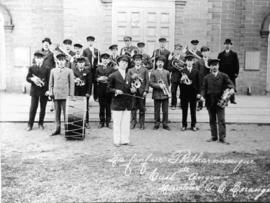 La Fanfare Philarmonique d'East Angus en 1912